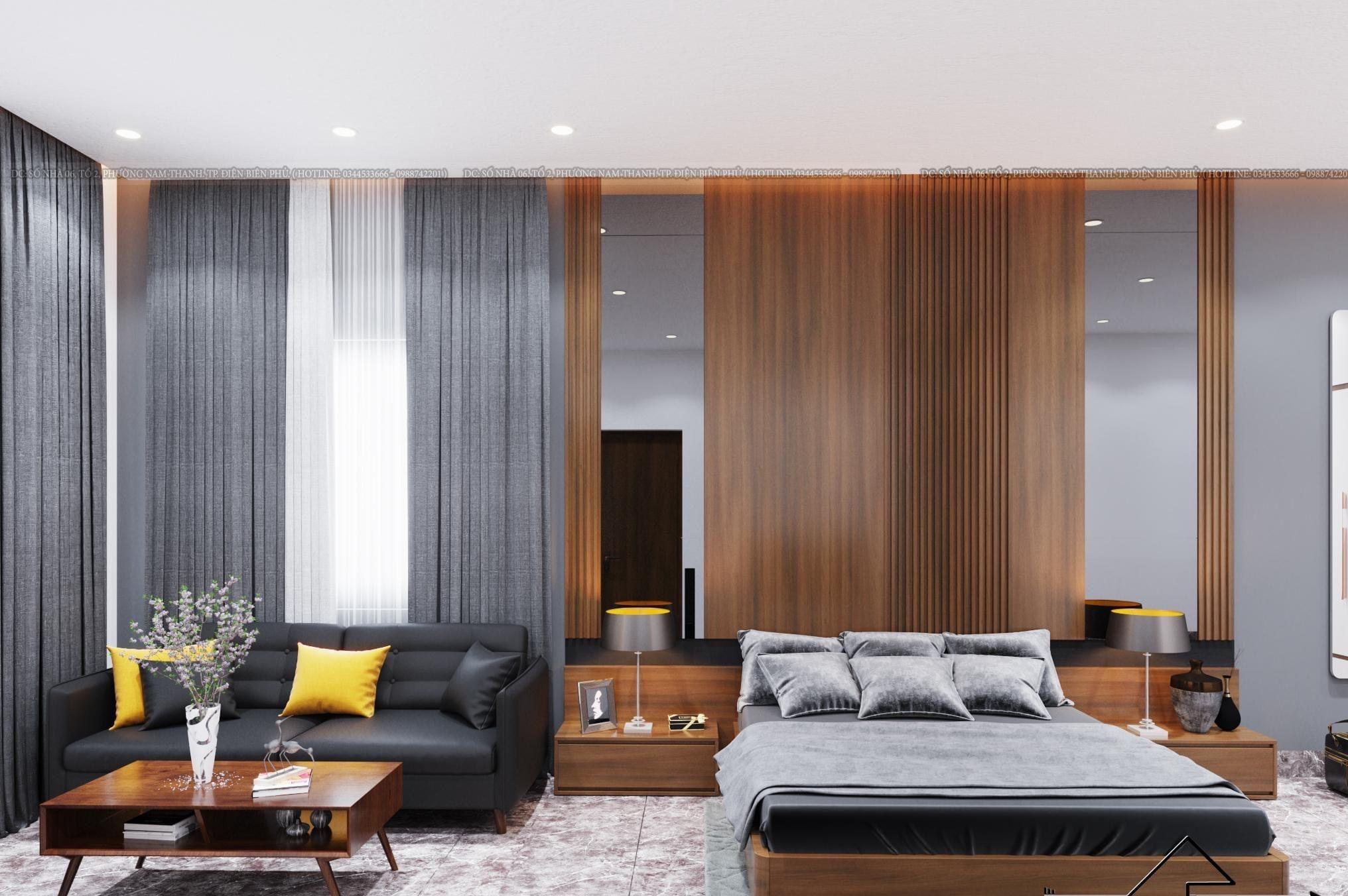 Tấm nhựa ốp tường tăng tính thẩm mỹ cho căn phòng