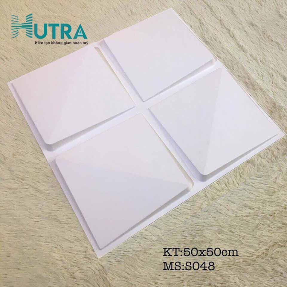 Tấm ốp tường 3D PVC S048