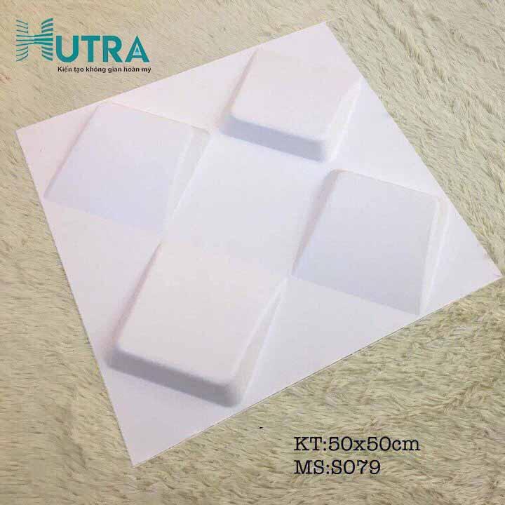 Tấm ốp tường 3D PVC S079