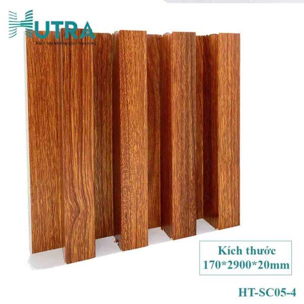 Tấm ốp tường PVC lam sóng HT-SC05
