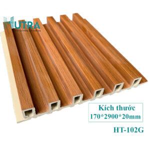 Tấm ốp tường PVC lam sóng HT-102G