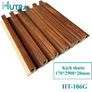 Tấm ốp tường PVC lam sóng HT-106G