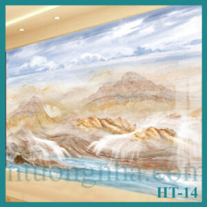Tấm pvc vân đá đối xứng HT-14