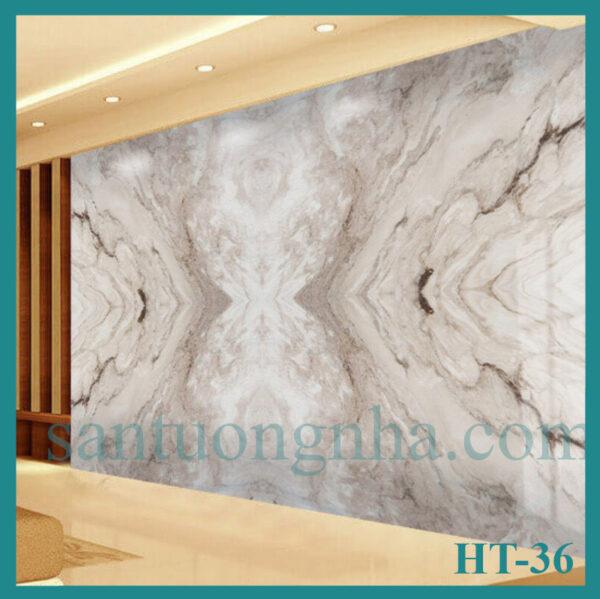 Tấm pvc vân đá đối xứng HT-36