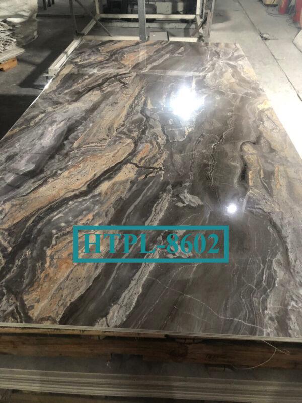 Tấm ốp tường PVC vân đá HTPL-8602
