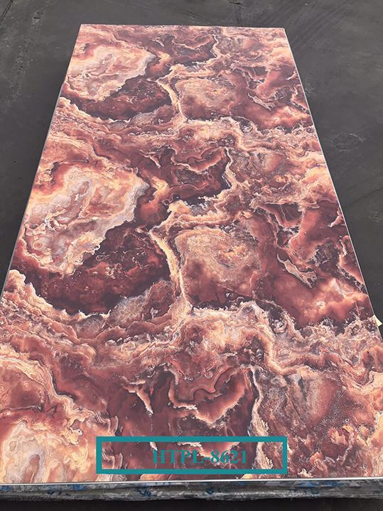 Tấm ốp tường PVC vân đá HTPL-8621