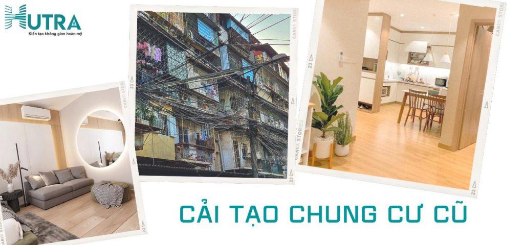 Mẫu thực tế cải tạo chung cư khu tập thể Thành Công - Hà Nội