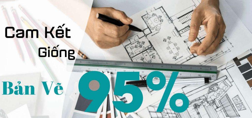 Cam kết chất lượng mọi công trình