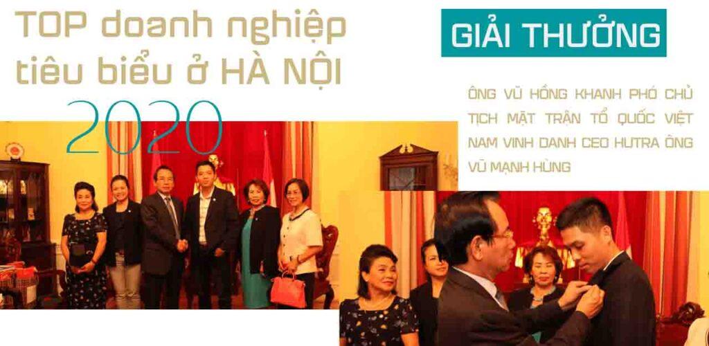 Hutra TOP doanh nghiệp tiêu biểu ở Hà Nội