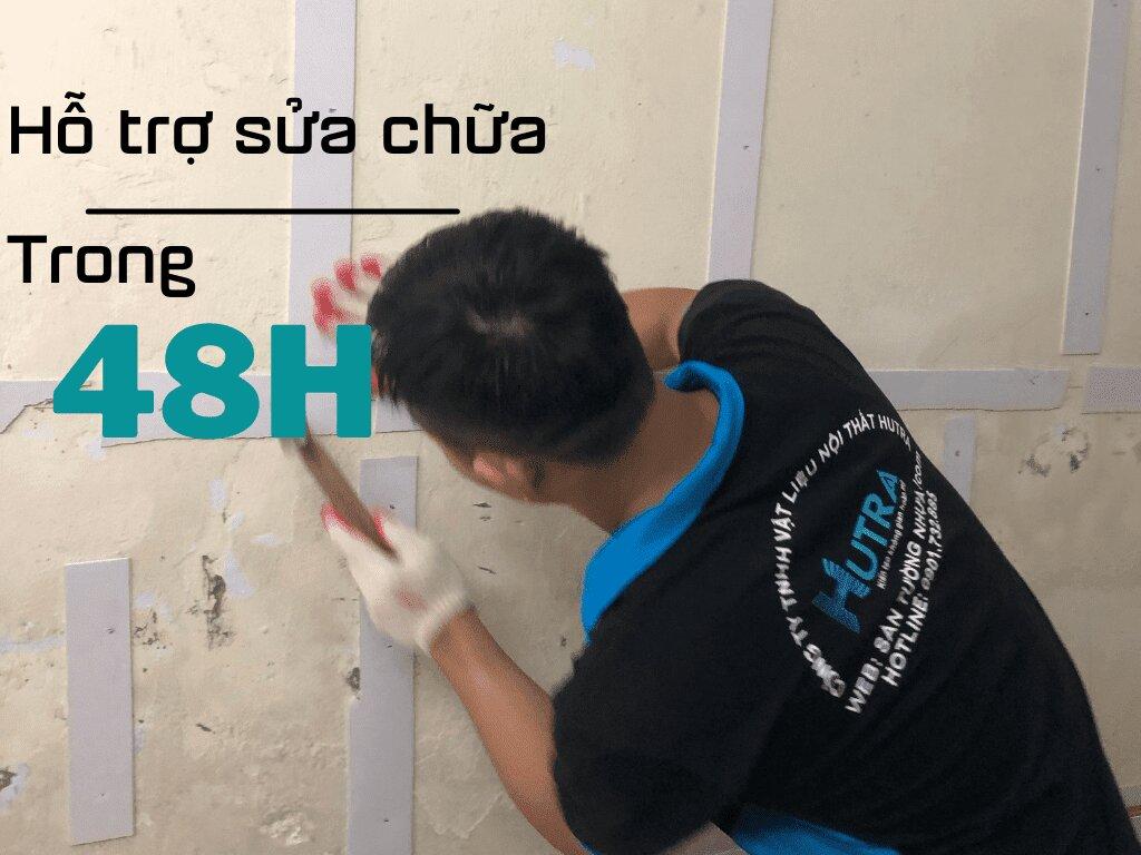 Hỗ trợ sửa chữa trong 48H