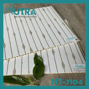 Tấm ốp tường PVC nano HT-7104